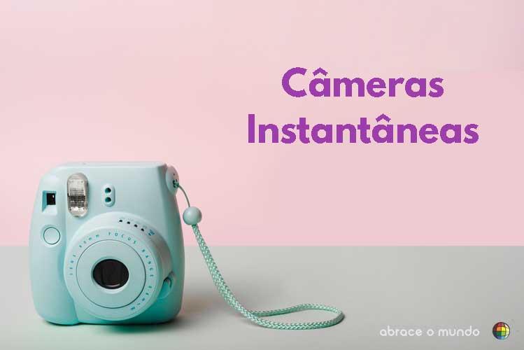 câmera instantânea