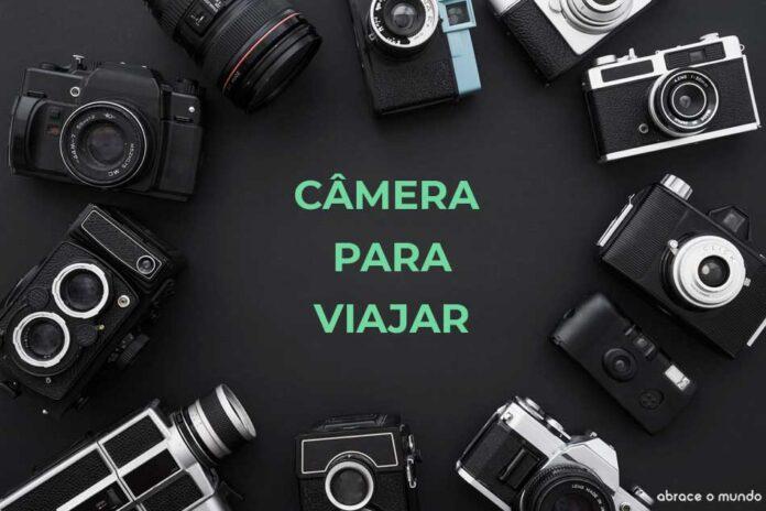 câmera para viagem