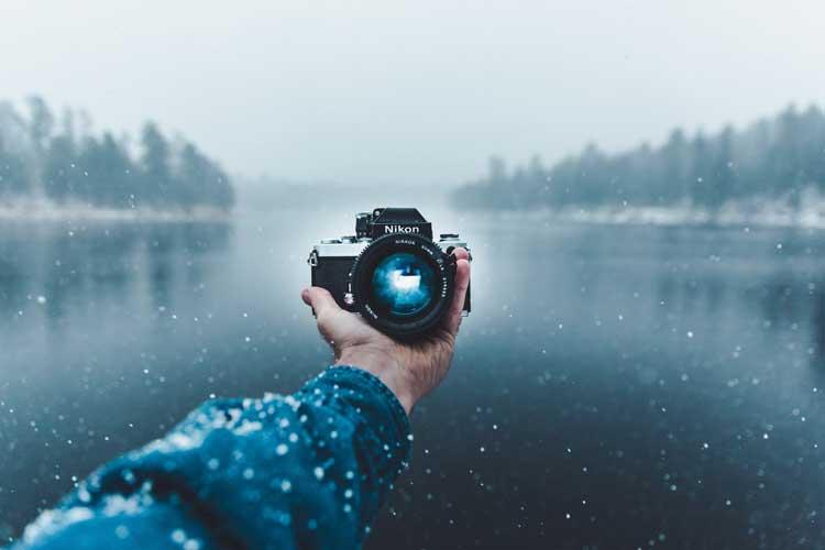 equipamento fotográficos viagem