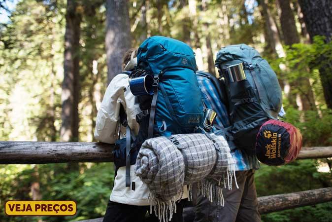 mochilão para viajar