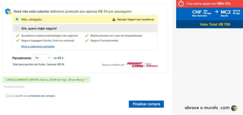 site viajanet é confiável