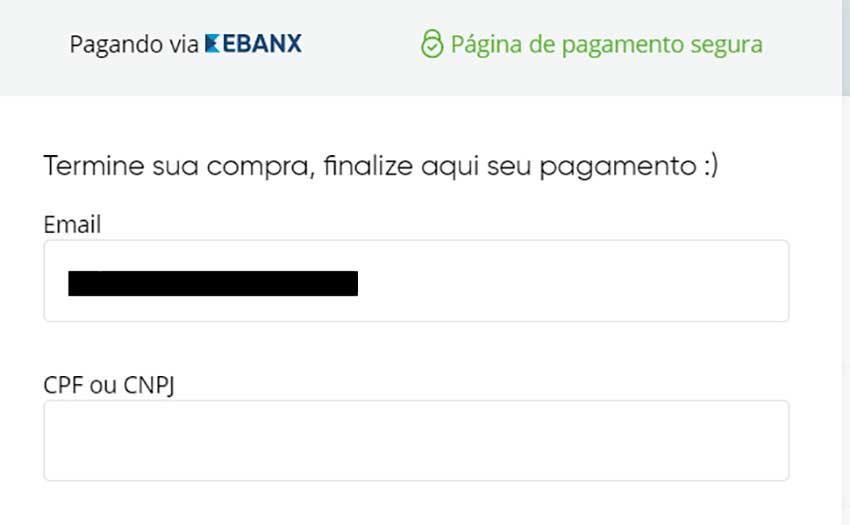Ebanx Pagamento