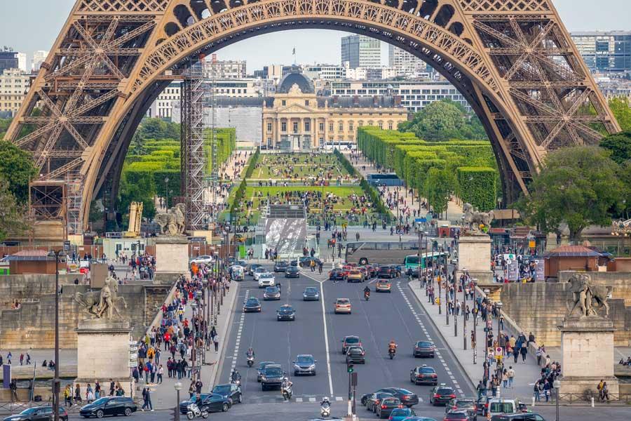 foto da torre eiffel de paris