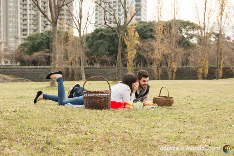 piquenique romântico criativo